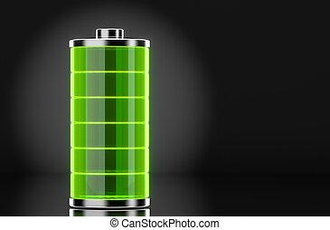 batterie, entiers