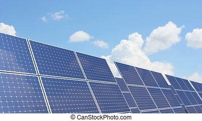 batterie, solaire
