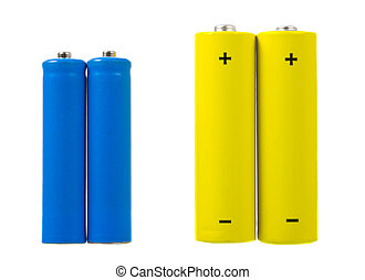 Batteries - AA and AAA sized batteries