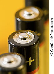 Battery-02 - 4 alcaline batteries with plenty of space to ...