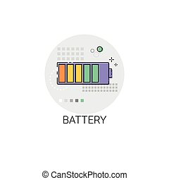 Battery Accumulator Charge Gadget Icon - Battery Ac?umulator...