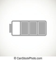 Battery black icon
