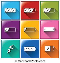 Battery buttons