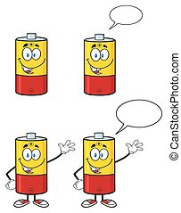 Battery Character Collection - 1