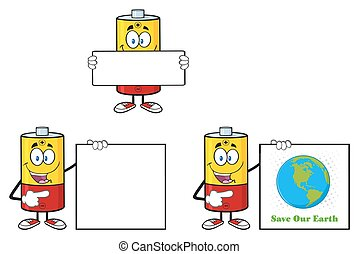 Battery Character Collection - 6