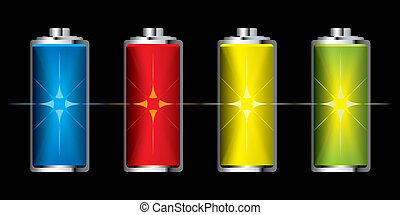 Battery charge flash