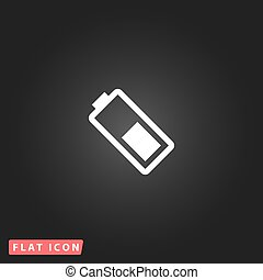 battery flat icon