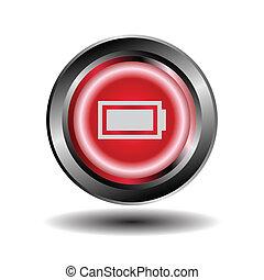 Battery icon button