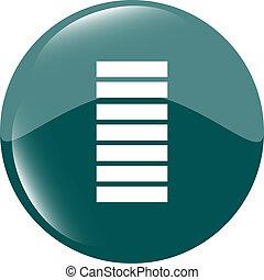 Battery icon - green button