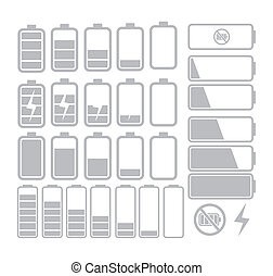 battery icon - suitable for user interface