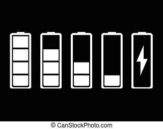 Battery indicator set