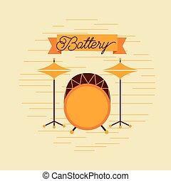 battery jazz instrument musical festival celebration