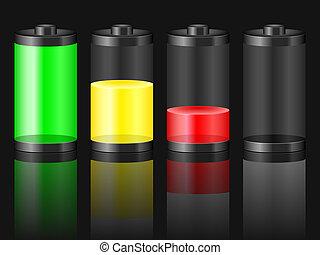 battery level black
