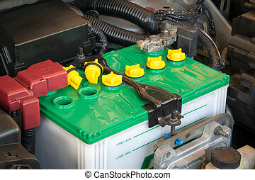 battery of a car
