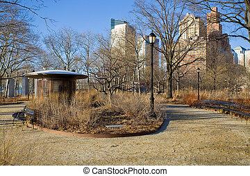 Battery Park in New-York
