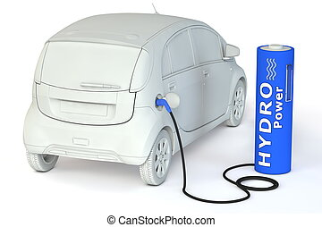 Battery Petrol Station - Hydro Power - alternative energy...