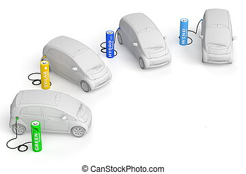 Battery Petrol Station -  Renewable Energy fuels E-Cars