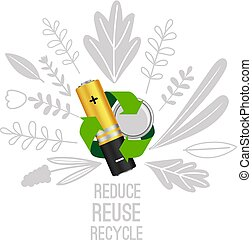 Battery reuse and recycle.