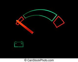 battery car indicator