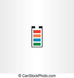 battery symbol vector icon