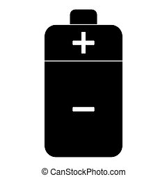 Battery  the black color icon .