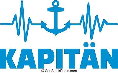 battito cardiaco, lavoro, capitano, linea, titolo