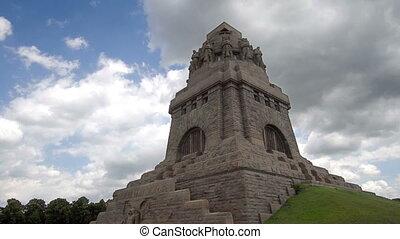 Battle of Nations Monument Timelapse - Timelapse of Monument...