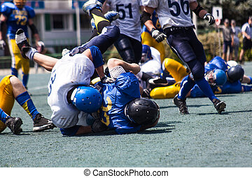 Battle of the American football