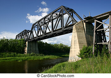 Battle River Train Bridge