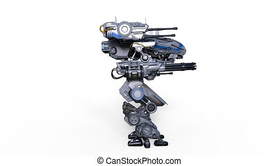 Battle robot - Image of a battle robot.