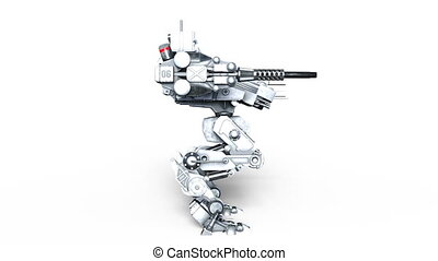 Battle robot - Image of a battle robot.