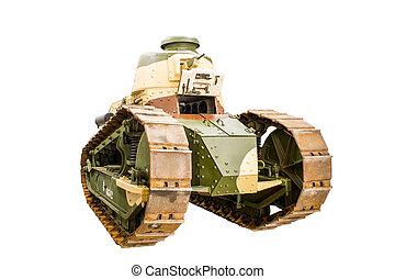 battle tank from the First World War