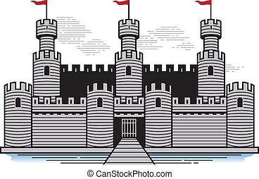 battlements