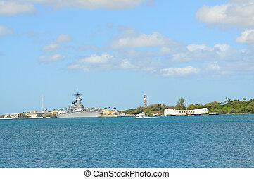 Battleship Missouri - USS Missouri - decommissioned...