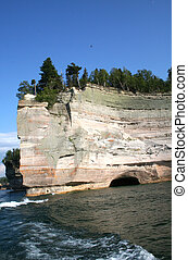 BATTLESHIP PICTURED ROCK