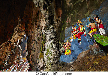 batu, cavernes