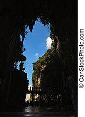 Batu caves entrance at Kuala Lumpur