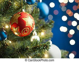bauble de navidad
