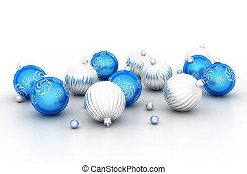 bauble van kerstmis