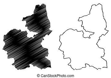 Bauchi State map