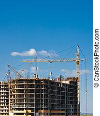 bauen konstruktion, multistorey