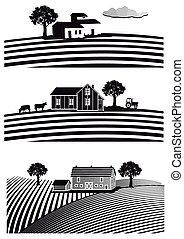 Bauernhof, Felder