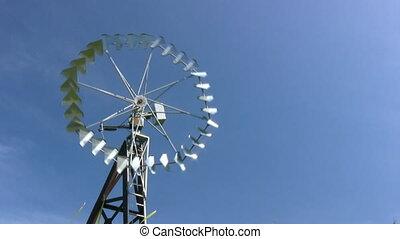 bauernhof, windmühle