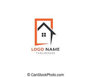 baugewerbe, logo, eigenschaft