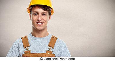 baugewerbe, worker.