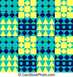 bauhaus color pattern