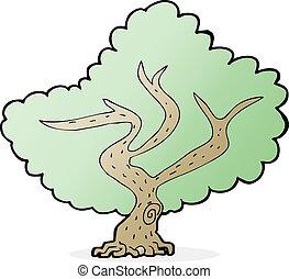 Baum Karikatur