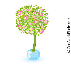 rosa pflanze blumen abbildung. Black Bedroom Furniture Sets. Home Design Ideas