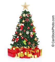 baum., weihnachten