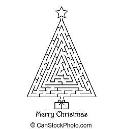 baum, weihnachten